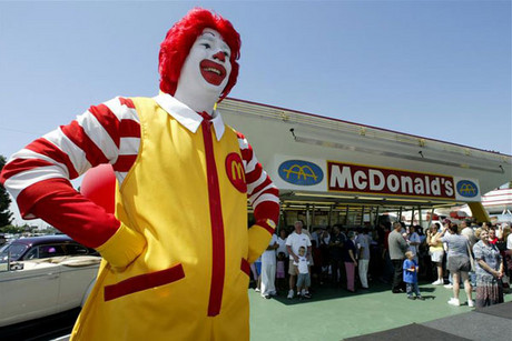 McDonald's has been labelled homophobic, for blocking gay websites from its ...
