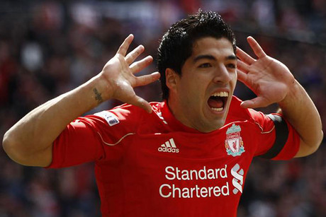 Video Luis Suarez - 3 Goles  Hat trick vs Norwich