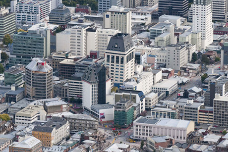 Christchurch CBD (file)