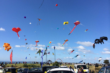 Kites celebrate the end of Matariki in Orakei, Auckland (Amanda Clark)