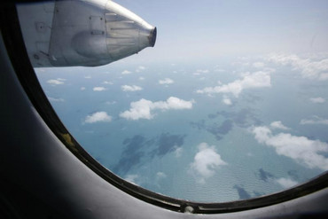 Looking for flight MH370 (Reuters image).