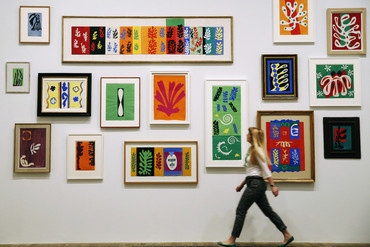 Matisse artworks on display at the Tate Modern (Reuters)