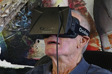 Oculus Rift won't be on the shelves until next year