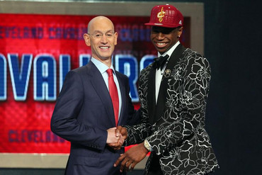 Andrew Wiggins was the No. 1 pick (Reuters)