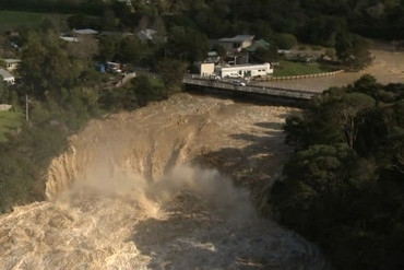 The sheer force of Northland's flooding is deafening, and possibly deadly