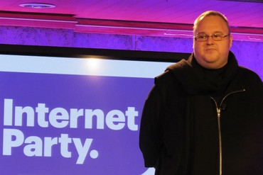 Internet Party founder Kim Dotcom (Briar Marbeck)