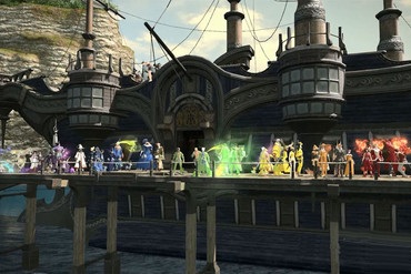 The Pixel Pride parade in Final Fantasy 14: A Realm Reborn