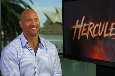 Hercules star Dwayne 'The Rock' Johnson