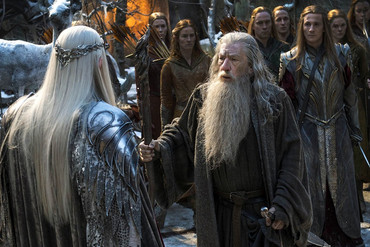 Sir Ian McKellen in The Hobbit: The Battle of the Five Armies