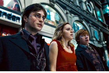 A still from the film Harry Potter and the Deathly Hallows: Part I