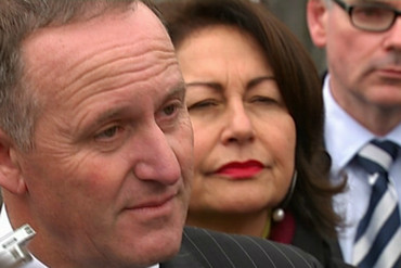 John Key was happy to answer media questions about anything and everything, except most of them would be about Ms Collins