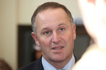 John Key (Photo: Simon Wong/3 News)