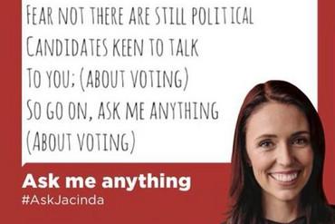 Jacinda Ardern's Tinder profile