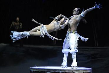 Totem at the Royal Albert Hall in London (Reuters)