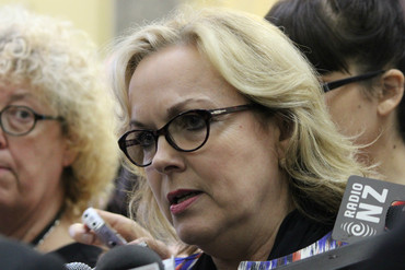Justice Minister Judith Collins (Simon Wong)