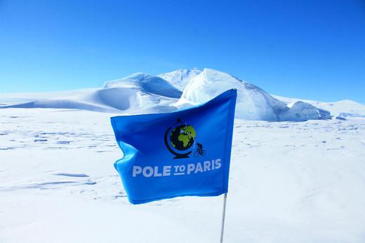 Pole to Paris ride pushes climate change warning